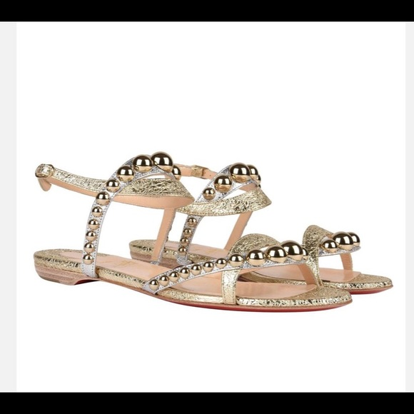 separation shoes f6186 dd626 Christian Louboutin Galeria flats 39